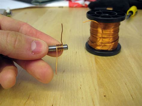 how an inductor is made a simple air inductor induction coil