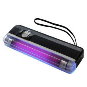 Money Detector Alat Deteksi Uang Palsu Mini Portable Kasir Batre Aa jual detektor uang detektor uang palsu money detector detektor portable lu ultra