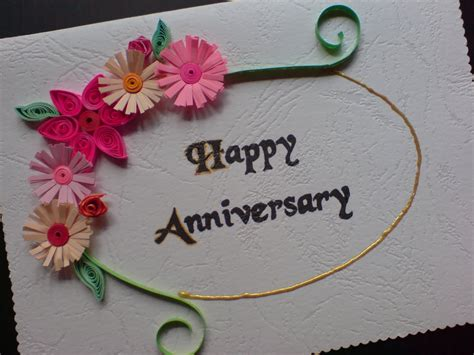 Handmade Greetings For Anniversary - chami crafts handmade greeting cards birthday card