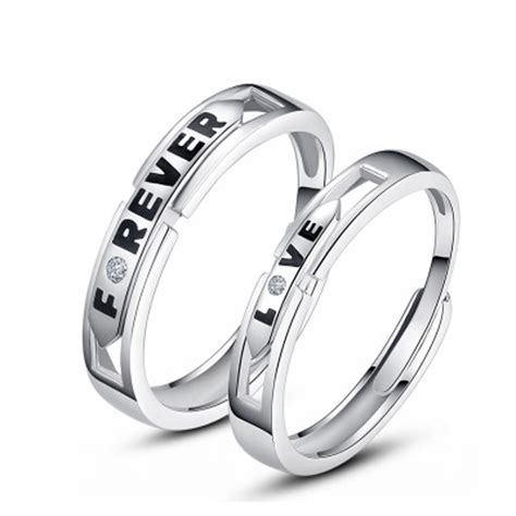 popular his and hers platinum wedding rings buy cheap his