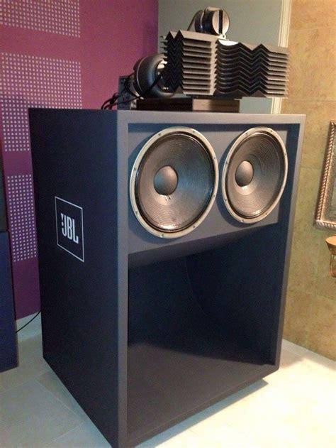 Speaker Jbl Rumah jbl 2x15 scooped bass bin horn with acoustic lens