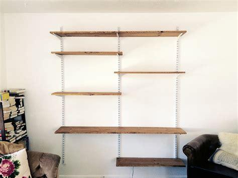 Home Decor Diy Projects diy open shelving living room unit