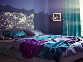 Blue grey bedrooms teal and gray bedroom purple and teal