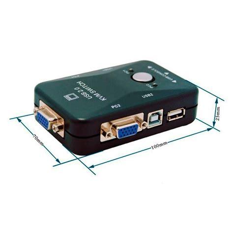 chaveador kvm usb switch 2 chaveador switch kvm 2 portas vga 2 usb monitor mouse