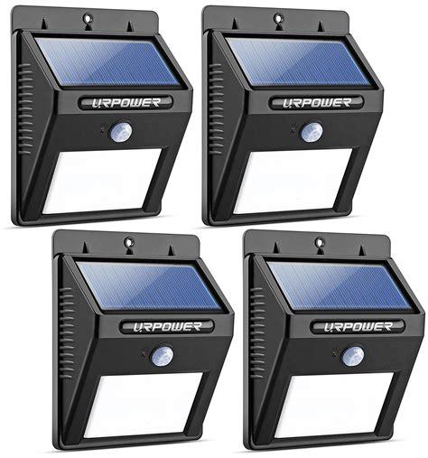 motion sensor patio light urpower solar lights waterproof motion sensor outdoor