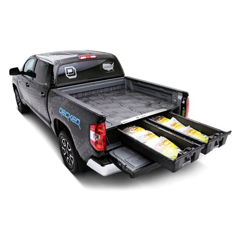 truck bed storage image may not reflect your exact vehicle decked 174 truck
