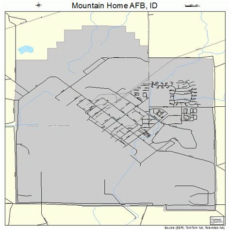 mountain home afb idaho map 1654820