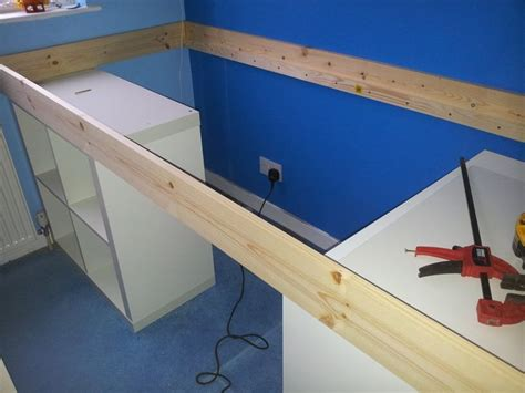 ikea raised bed ikea hackers an expedit bed for kids pallet ideas
