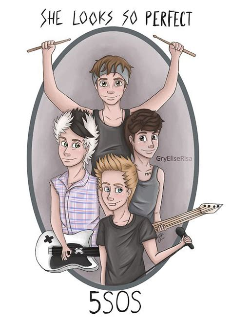 5 Second Sketches by 17 Best Images About 5sos Doodles On 5sos