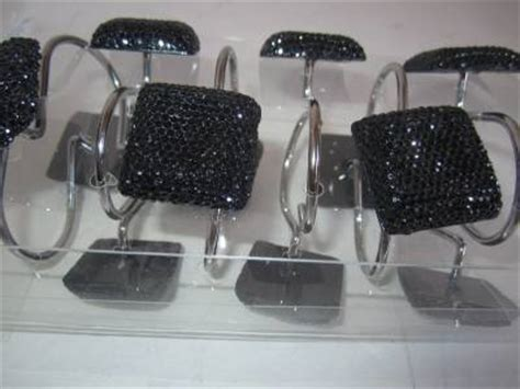 Black Bling Bathroom Accessories Black Rhinestone Shower Curtain Hooks Bling Bath Accessory Set 12 Contemporary Ebay