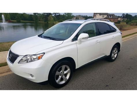 Used Lexus Rx For Sale used 2010 lexus rx for sale by owner in odum ga 31555