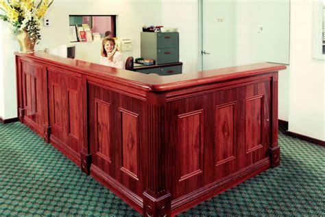 hospital reception desk newton cabinets