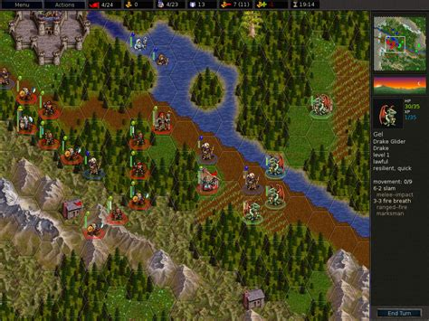 freeware freegame  battle  wesnoth