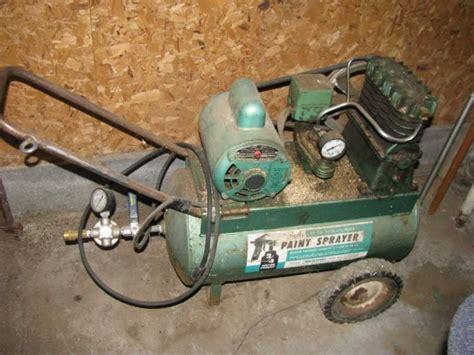 sears  psi  cylinder paint sprayerair compressor