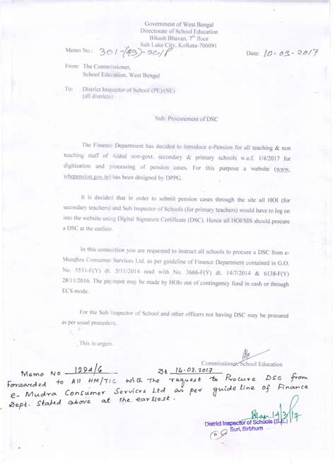 Gpf Withdrawal Letter pf pension we the teachers