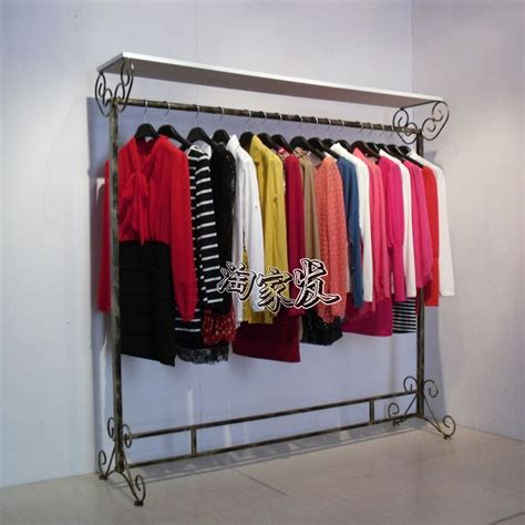 Clothing Store Racks And Shelves Aliexpress Buy Iron Clothing Rack Clothing Store