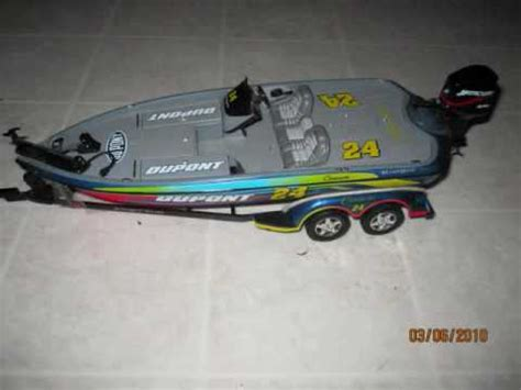 rc boat trailer video traxxas slash with car and boat trailer youtube