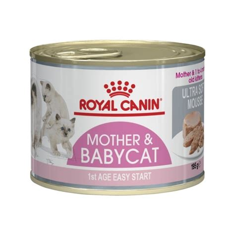 Royal Canin And Baby Food royal canin ultra soft mousse baby cat instinctive babycat 195g petbarn