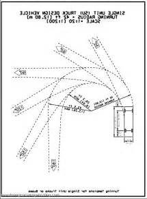 school turning radius template 18 wheeler turning radius template pictures to pin on