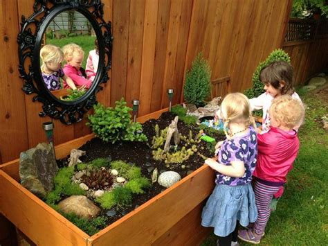 Garden Daycare Garden At Early Discoveries Inc Child Care Image