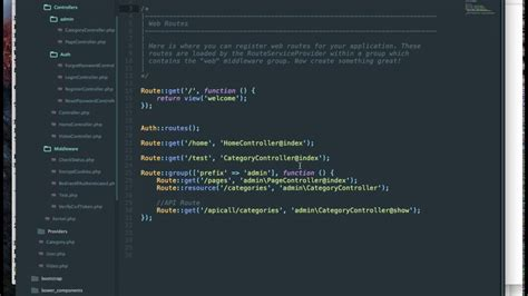 laravel tutorial admin laravel tutorial adding a middleware to the admin