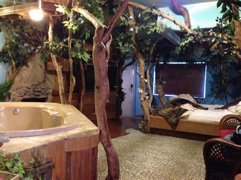 themed hotel rooms nj treehouse suite picture of feather nest inn cherry hill