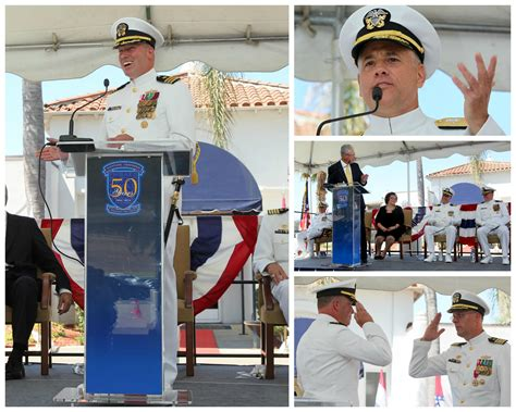 rear admiral larry chambers usn american to command an aircraft carrier books community and chamber welcome new commander at nswc corona