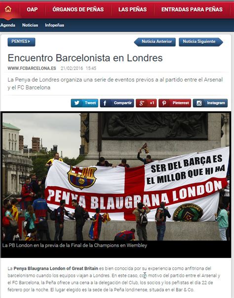 barcelona website fc barcelona website publishes events organised by pbl for