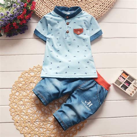 Set Baby Boy Up 15 Bulan bibicola summer infant baby boys clothing sets