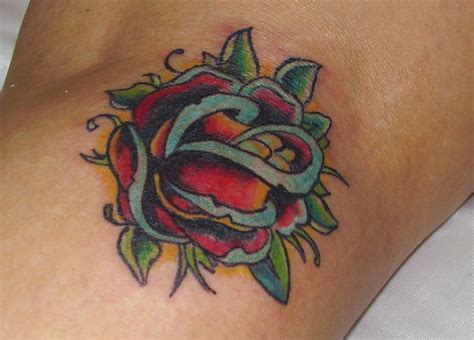 traditional style rose tattoo the gallery for gt traditional style