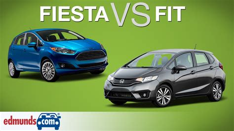 honda fit vs ford 2015 ford vs 2015 honda fit two sub compacts