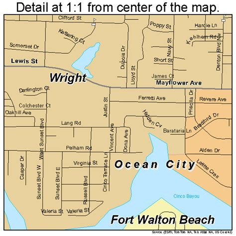 ft walton florida map fort walton florida map 1224475