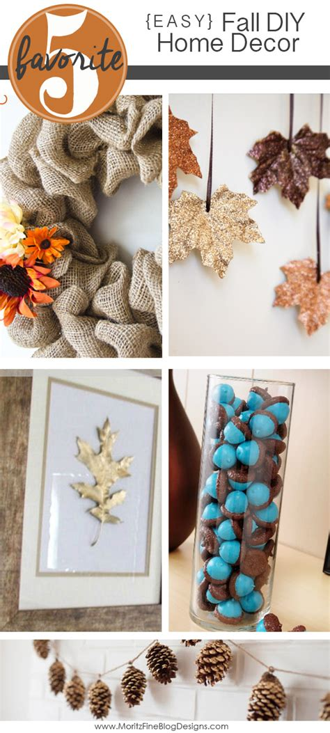 fall home decor diy easy diy fall home decorations