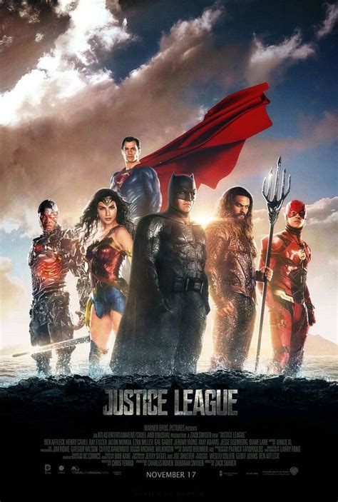 justice league 2017 movie poster hd by junkyardawesomeness justice league 2017 poster 2 by camw1n ɗƈ mαяνєɩ