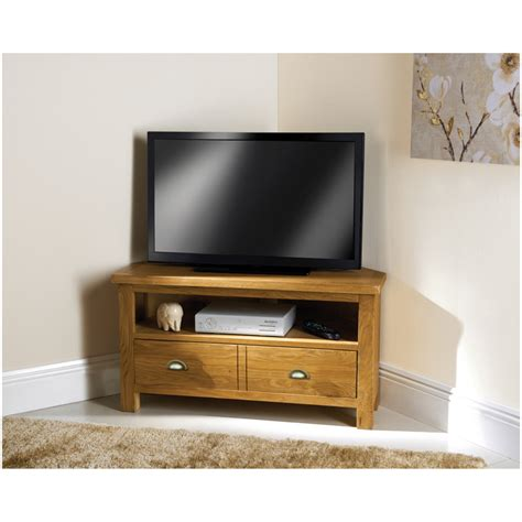 unit tv b m wiltshire oak corner tv unit 319227 b m