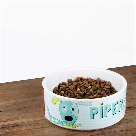 custom bowls personalized pet bowl us design a custom pet bowl