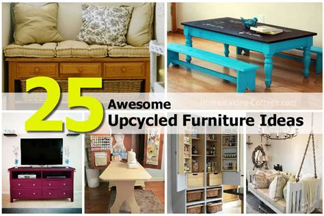 upcycle ideas furniture 25 awesome upcycled furniture ideas