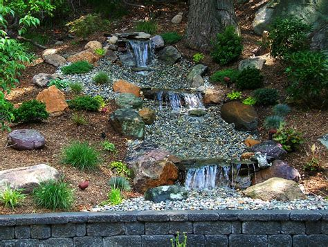 backyard ponds with waterfall backyard pond ideas with waterfall marceladick com