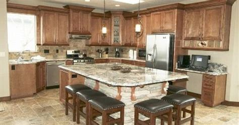 Kitchen Islands With Seating For 6 Kitchen Islands With Seating Large Kitchen Island Seating On Fully Equipped Gourmet