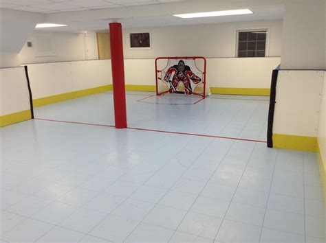 backyard hockey rink boards d1 backyard rinks synthetic ice basement or backyard rink kits hockey shooting