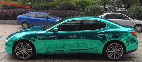 maserati ghibli green bling maserati ghibli is shiny light green in china