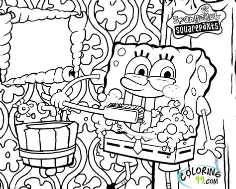 free printable spongebob coloring pages az coloring pages