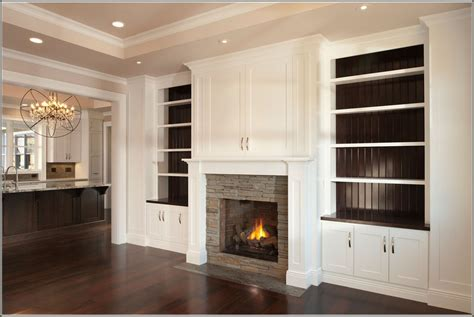 Built In Cabinets Around Fireplace by Built In Bookshelves Around Fireplace American Hwy