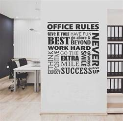 Office Wall Decor by Office Collage Quote Wall Lettering Vinyl Office