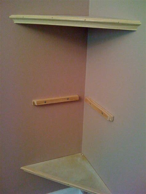 floating corner shelves by ronahaa lumberjocks