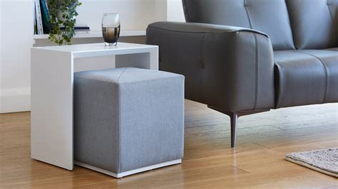 Side Table And Stool by Modern Multipurpose Side Table Set Grey Uk Delivery