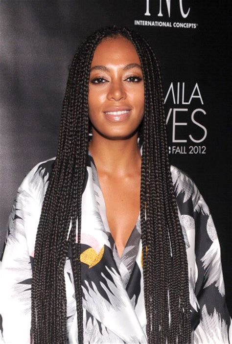 solange knowles braid hairstyles how many inches were solange box braids google search