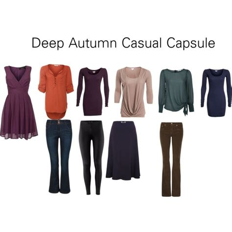 Casual Wardrobe For by Autumn Casual Capsule Polyvore