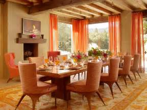 Orange Dining Rooms by Impressive Orange Dining Room Decosee Com