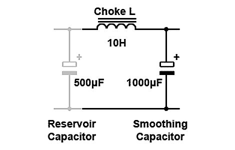 low pass filter design using inductor and capacitor power supplies filter circuits